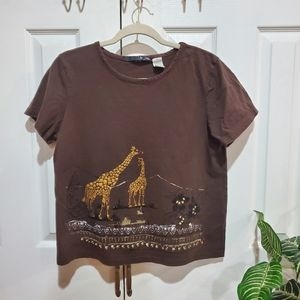 Dollz beaded and Sequin Tee